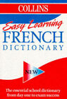 Collins Easy Learning French Dictionary by HarperCollins Publishers (Paperback, 1996)