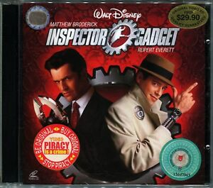Image Is Loading 1999 Inspector Gadget Matthew Broderick Original Video CD