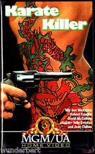 """VHS - """" Karate KILLER """" (1967) - Robert Vaughn - David McCallum - Joan Crawford"""