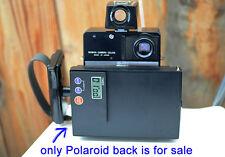 Original Mamiya Universal Press Polaroid Instant Film back with digital timer