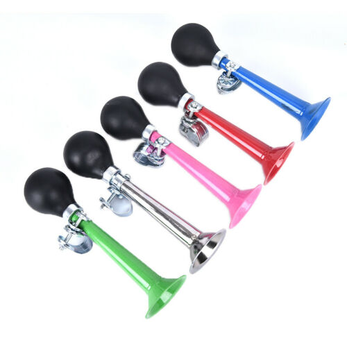 1pc Bicycle Bike Cycling Air Horn Bell Alarm Retro Metal Twist Bugle RubberI `