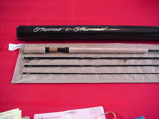 Thomas & Thomas DNA Trout Spey Fly Rod 11ft 6in Spey  4 Line 4 Piece GREAT NEW