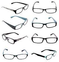 CLOSEOUT WHOLESALE LOT 6 WOMEN OPTICAL READING GLASSES  ASST LADIES +2.50 LR3530