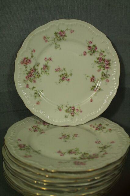 Theodore Haviland Rosalinde New York china salad plate