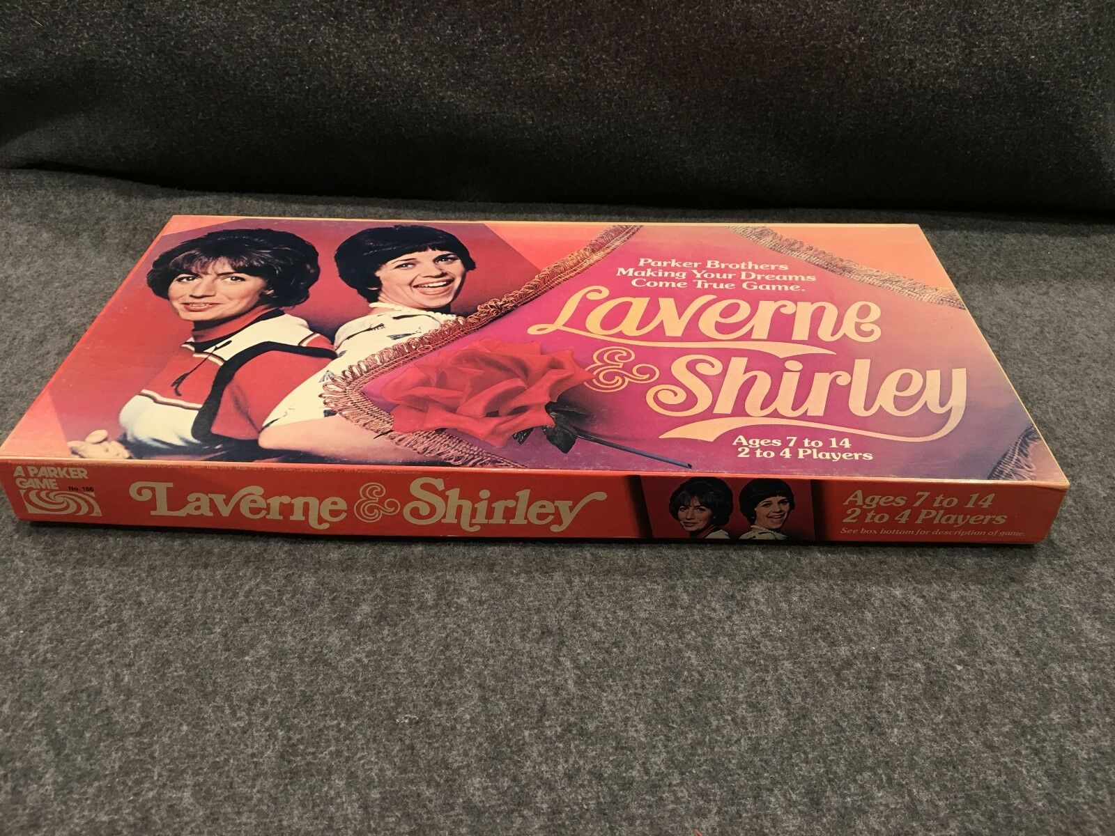 LAVERNE et SHIRLEY Board  Game Parker Brougehers 1977 vintage  100% authentique