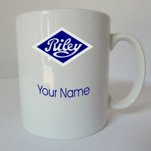 Personalised Riley Logo Mug Cup Gift Present Birthday Christmas Fathers Day