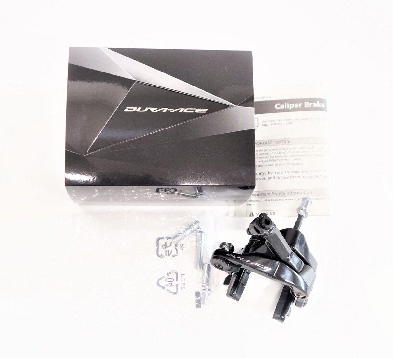 Todos los nuevos Shimano Dura Ace BR-9100 de doble pivote de pinza de freno frente solamente Garantía