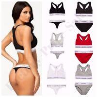 Women Ladies Calvin Klein Underwear Sports Bra Bralette Hip Brief ,Thong Sets