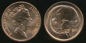 Australia-1988-One-Cent-1c-Elizabeth-II-Uncirculated