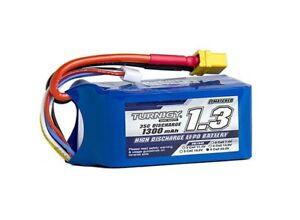Turnigy-1300mAh-6S-35C-Lipo-Battery-Pack-Drone-Quad-450-HK-Trex-Rave-E4