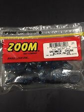 "Zoom Swimmin Chunk Black 3/"" 10pkg"