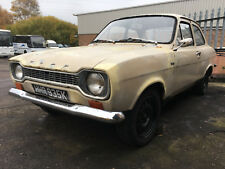 1972 Ford Escort MK1 2 door HAS FULL UK V5