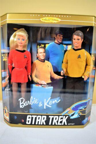 Mattel STAR TREK BARBIE AND KEN  30th Anniversary Gift Set  NRFB 15006 (319)