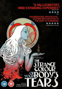 The-Strange-Colour-of-Your-Body-039-s-Tears-Region-2-DVD-New-Free-Shipping
