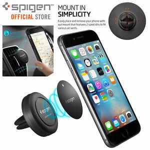 Car-Phone-Holder-Mount-Dock-Genuine-Spigen-A200-Air-Vent-Magnetic-Universal-GPS