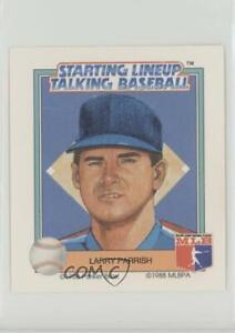 1988 Starting Lineup Talking Baseball Texas Rangers Larry Parrish #15