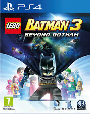 LEGO BATMAN 3 BEYOND GOTHAM GAME PS4 BRAND NEW SEALED OFFICIAL PAL