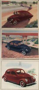 MATFORD-3-MODELES-DE-VOITURES-N-82V8-FF92-A-V8-ET-F91A-V8-1937