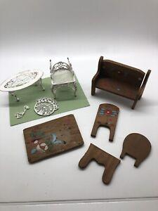 Vintage dollhouse furniture1:16 scaleDollhouseDollhouse Furniture
