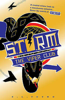 1 of 1 - S .T. O. R. M. - The Viper Club by E. L. Young BRAND NEW BOOK (Paperback, 2008)