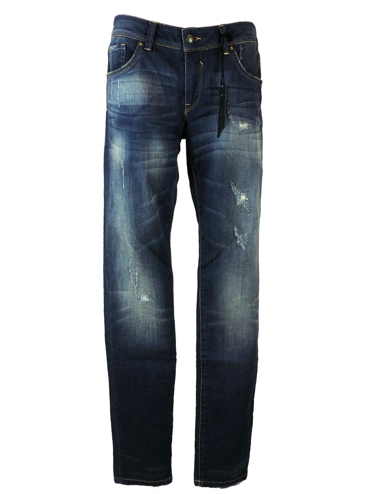 e5cd8cb5b1a3 Tribeca New York bluee Jeans W30 L34 denim blue faded destroyed neu mit  Etikett