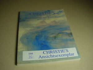 CHRISTIE-S-Auktionskatalog-British-Drawings-and-Watercolors-8-Juni-June-1999