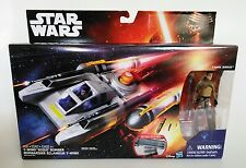 "Star Wars™ Rebels Vehicle Y-Wing™ Scout Bomber W/Kanan Jarrus 3.75"" Fig. ~ NEW!"