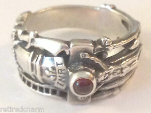 RETIRED JAMES AVERY MARTIN LUTHER WEDDING BAND MANs PINKY RING
