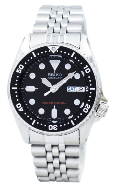 Seiko automático Divers 200 m 21 joyas pequeñas SKX013K2 SKX013