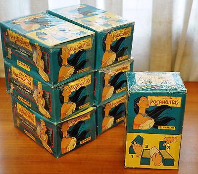 CAJA 100 SOBRES DE CROMOS ALBUM DE CROMOS WINNIE THE POOH PANINI STICKER PACKETS