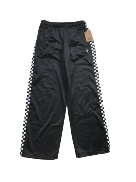 VANS Check Mark Tricot Track Pants Black VN0A47TYBLK W/tags ...