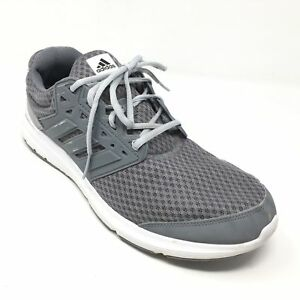 fc28e0d62a39 Men s Adidas Galaxy 3 M Running Shoes Sneakers Size 10M Gray White ...