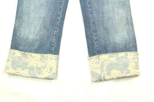 Roberta Donna Avec Revers Taille Scarpa Jeans 6 Dᄄᆭtail Pinocchietto BrdCoex