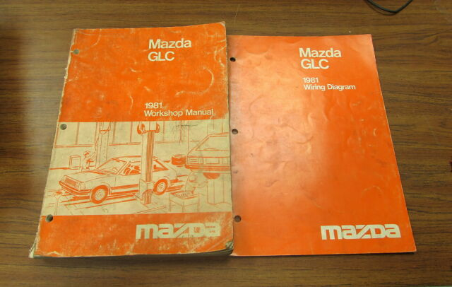 1981 Mazda Glc Service Workshop Electrical Wiring Diagram