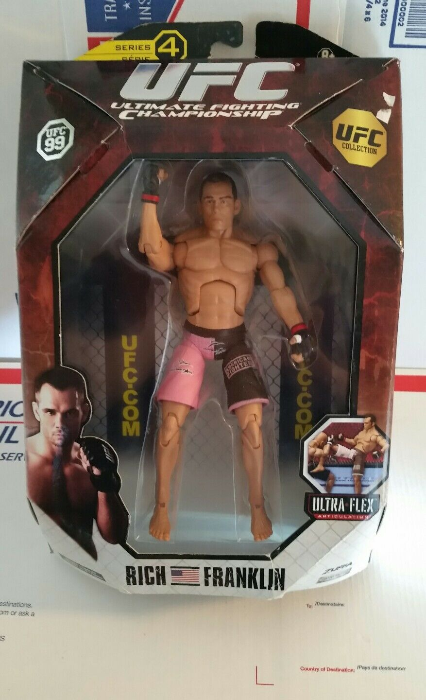 RICH FRANKLIN UFC Ultimate Fighting JakkS Series 4 Action  figure WITH BOX