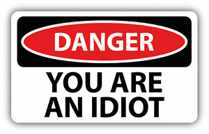 Signs you're dating an idiot