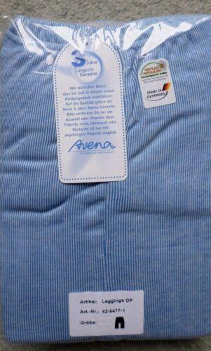 50 NUOVO OVP 2er-Pack Leggings Donna Lunghi mutande Avena Blu//Bianco Mis