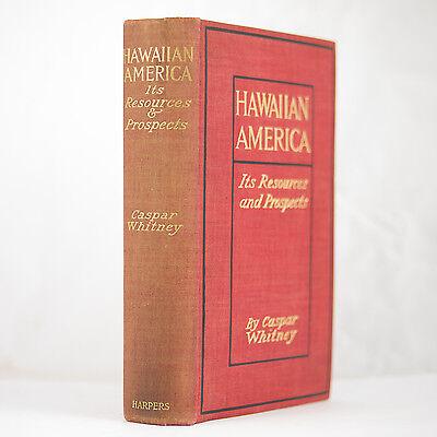 1902 HAWAII COFFEE SUGAR CANE PLANTATIONS RAILROADS NATIVES FISHING MAPS PHOTOS