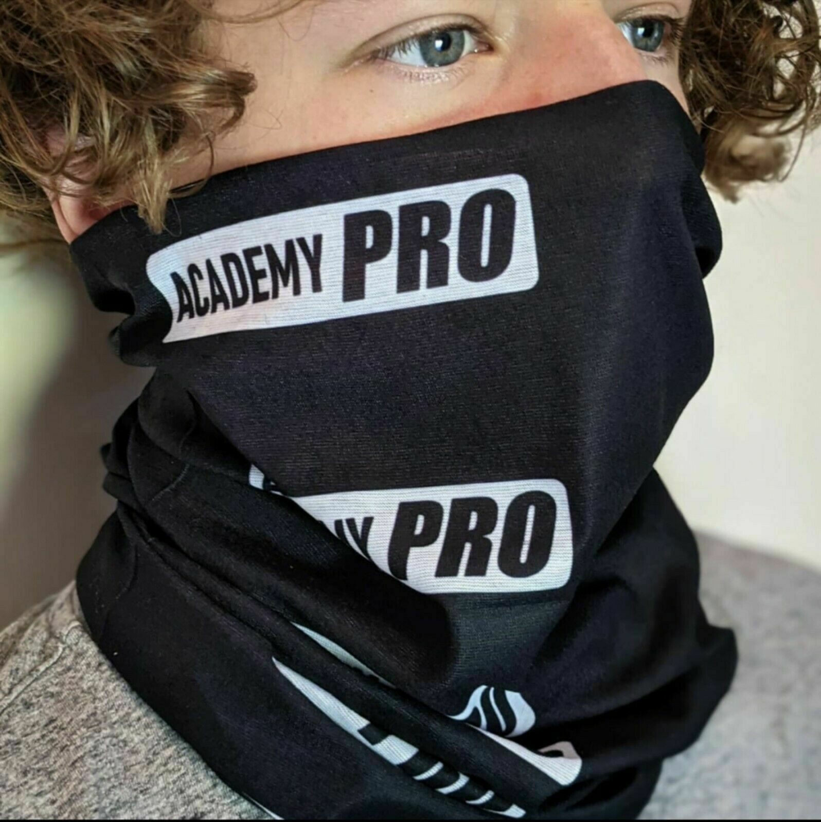 Academy Pro Multi-use Balaclava Face Mask Tube Snood Bandanna Headband