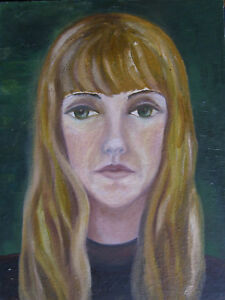 Rose-Marie-Diamond-Mountain-1940-Luckenwalde-GDR-Oil-Painting-Portrait-girl-kr2