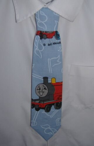 Pre-tied elasticated Tie Thomas the Tank Engine Boys James the Red Engine