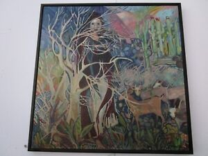 FINEST-JACQUE-TATUM-PAINTING-LARGE-ABSTRACT-EXPRESSIONIST-SURREAL-MODERNIST-1960