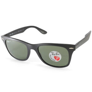 3e94aa7677b Image is loading Ray-Ban-RB4195-601S9A-Wayfarer-Liteforce-Black-Green-
