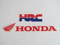 Factory Honda Hrc Racing Decal Set Stickers Vintage Motocross Supercross Stanton