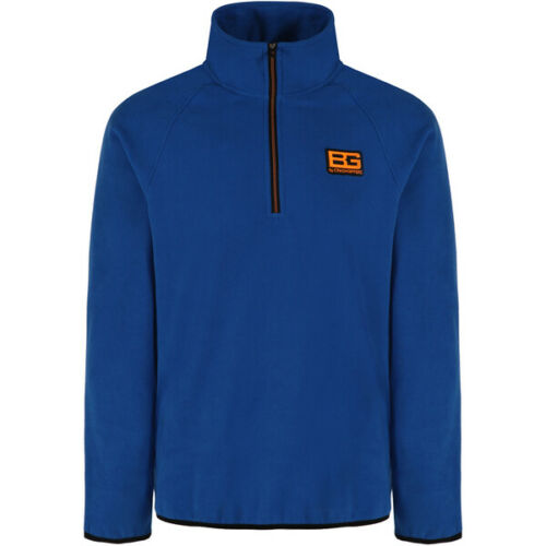 Craghoppers Mens Bear Grylls Core Half Zip Microfleece Red and Blue  CMA1175