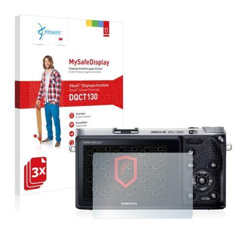 3x Vikuiti Schutzfolie DQCT130 von 3M für Samsung NX500