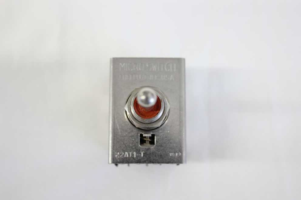 Micro Switch modello 22AT1-T, (ON)-OFF-(ON) momentaneo, Mil Spec, 4 Way   calidad auténtica