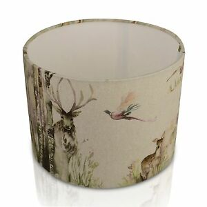 New voyage maison enchanted forest deerstag lampshade table lamp image is loading new voyage maison enchanted forest deer stag lampshade mozeypictures Gallery