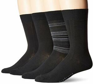 Van-Heusen-Mens-4-Pack-Premium-Dress-Socks-Size-10-13