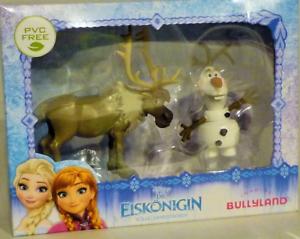 Bullyland 13061 Die Eiskönigin Mini Olaf und Sven Sammelfiguren Frozen